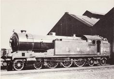 A Whitelegg 540 Class 'Baltic' of Glasgow & South Western Railway. Built in 1922 as No it was the last new build engines made for the G&SWR before grouping. After grouping it became LMS 15403 (Class and was withdrawn in December 1935 at Ayr Buses And Trains, Old Trains, Steam Railway, British Rail, Glasgow Scotland, Old Photographs, Steam Locomotive, Great Britain, Steamers