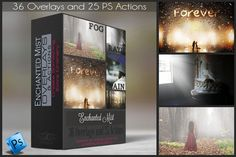 Enchanted Mist - Actions & Overlays by DareToDream on Creative Market