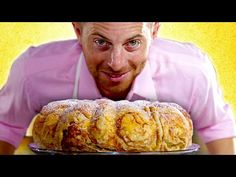 The Try Guys Bake Bread Without A Recipe – All Recipes Food Cooking Network Pizza Recipes, Cooking Recipes, Try Guys, Holiday Pies, Peach Cake, Christmas Breakfast, Fresh Bread, Bread Baking, Bread Food