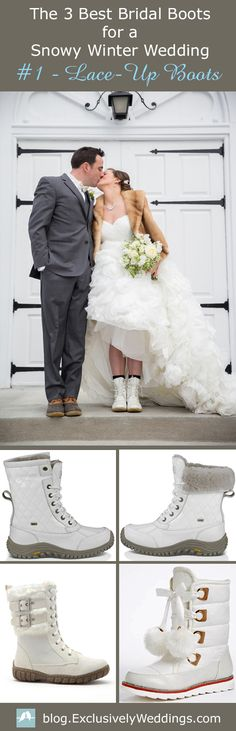 Editors Pick The 3 Best Bridal Boots For A Snowy Winter Wedding