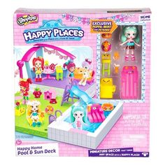 Happy Places ShopkinsTM Home Pool And Sun Deck Target Shopkins