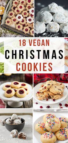 18 Festive Vegan Christmas Cookies Recipes I the best vegan christmas cookies I vegan recipes for christmas I best festive vegan desserts I best vegan recipes for kids I how to make the best vegan cookies I tips for making the best vegan cookies for christmas I vegan christmas recipes I best holiday cookies I vegan cookies for the holidays I dairy free cookies #vegancookies #christmasrecipes #christmascookies