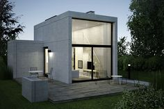 5 Modern Eco-Friendly Prefab Homes You Can Order Right Now – Modern Home Container House Design, Small House Design, Modern House Design, Casas Containers, Concrete Houses, Dream House Exterior, Prefab Homes, Facade House, Minimalist Home