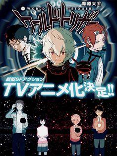 World Trigger anime poster