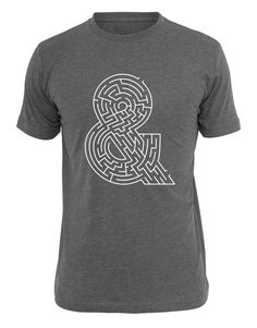 Andmaze - A maze, ampersand, and t-shirt all in one. Yay! :)