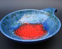 Dumler & Breiden Schüssel Vintage deutsche Keramik modernistischen Teller