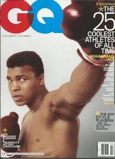 GQ magazine The 25 coolest athletes Muhammad Ali Tom Brady Michael Jordan . Gq Magazine Covers, Joe Namath, Rihanna Photos, Float Like A Butterfly, Jeff Bridges, Muhammad Ali, Jfk, Michael Jordan, Boxing