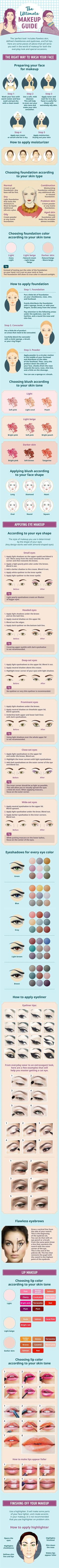 Best Makeup Tutorials for Teens -The Ultimate Makeup Guide You Can�t Live Without - Easy Makeup Ideas for Beginners - Step by Step Tutorials for Foundation, Eye Shadow, Lipstick, Cheeks, Contour, Eyebrows and Eyes - Awesome Makeup Hacks and Tips for Simpl