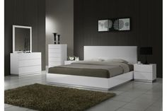 Contemporary Master Bedroom Furniture : The Holland Unique And Inspiring Modern Bed Sets - Is your house feeling a tiny dated? Luxury Bedroom Sets, King Size Bedroom Sets, Luxurious Bedrooms, King Bedroom, Luxury Bedding, Master Bedroom, Master Suite, Contemporary Bedroom Sets, Modern Bedroom Design