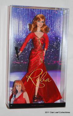 "reba mcentire fancy | Details about 2010 REBA McEntire ""Fancy"" Red Dress Barbie T7658 NRFB"
