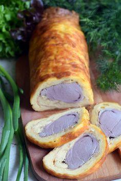 Pork Recipes, Cooking Recipes, Xmas Food, Fresh Rolls, Sausage, Food And Drink, Low Carb, Turkey, Menu
