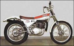 Yamaha TY cantiliver 1974 Mx Bikes, Trial Bike, Vintage Bikes, Trials, Yamaha, Motorcycle, Vehicles, Beauty, Motorbikes