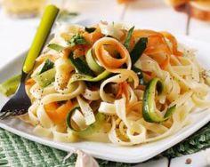 Tagliatelles tricolores minceur au basilic : http://www.fourchette-et-bikini.fr/recettes/recettes-minceur/tagliatelles-tricolores-minceur-au-basilic.html