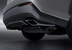 마름모 꼴의 듀얼 머플러 팁.   Lexus Facebook ▶ www.facebook.com/lexusKR   #Lexus #LexusNX #NX #NXFSPORT #NX200t #BeijingMotorshow #Car