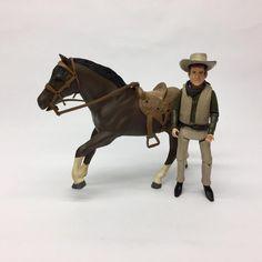 Vintage 1960s American Character Bonanza Hoss Horse & Little Joe Action Figures  | eBay