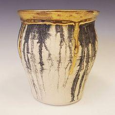 Mocha + Luster on Stoneware.