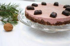 Mansikka-cashew -raakakakku / Raw strawberry and cashew cake / Pop-up -kahvila Helsingin Herkkusuu