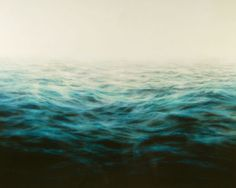 Title: Indigo Sea Artist: Mary Beth Thielhelm (1965, American) Year: 2007  Materials/Techniques: oil on panel Price contact dealer Measurements Height: 48 in. Width/length: 5 ft. Location Sears-Peyton Gallery 210 11th Avenue Suite 802 New York, NY 10001 USA