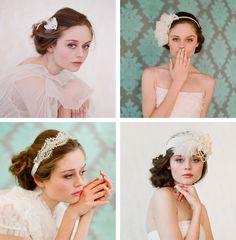Peinados de novia con accesorios #peinados    #hairsyle #recogido #bun #updo #hairpiece #hairband #diadema #tocado #novia #boda #wedding #brand