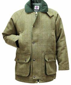 WWK Derby Tweed Breathable Hunting Shooting Jacket Coat Waterproof Branded Mens Wool WWK / WorkWear King,