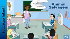 Educação Infantil - Nível 3 (crianças entre 6 a 8 anos): Animal Selvagem