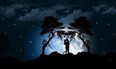 Image result for a kiss in the moonlight