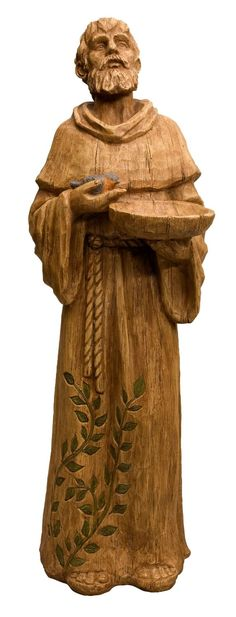 Amazon.com: New Creative 841744 Seeds of Faith Statue with Bird Feeder, St. Francis, 8-Inches x 10-Inches x 29-Inches Tall (Discontinued by Manufacturer): Patio, Lawn & Garden