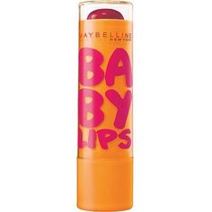 Maybelline New York Baby Lips Moisturizing Lip Balm, Cherry Me. This stuff is FANTASTIC! Gives the perfect tint without looking like lipstick. I have 4 tubes, just in case! Baby Lips Maybelline, Spf Lip Balm, Lip Moisturizer, Lip Balms, Lip Gloss, Smooth Lips, Kissable Lips, Dry Lips, Lip Stain