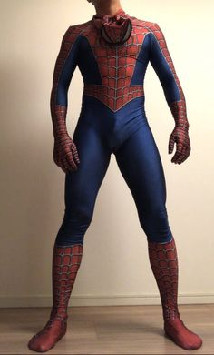 Spiderman Costume, Superhero Cosplay, Male Cosplay, Cosplay Costumes, Aquaman Dc Comics, Superhero Suits, Deadpool Cosplay, Gym Outfit Men, Ballet Tights