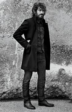 Behind the scenes for G-Star Raw with Photographer Anton Corbijn & Actor/Director Vincent Gallo Vincent Gallo, Men's Business Outfits, Brand Campaign, Children Images, Man Photo, G Star Raw, Bearded Men, Winter Outfits, Fashion Photography