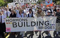 Boy Scouts defy orders, wear uniforms in Utah gay pride parade