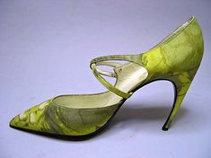 Roger Vivier shoes for the House of Dior, 1960