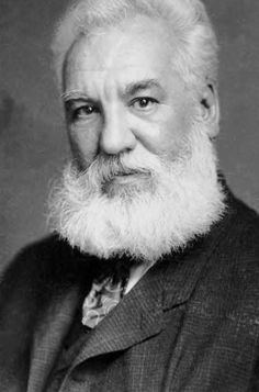 Alexander Graham Bell, the man that fathered Terry & Desi Bell