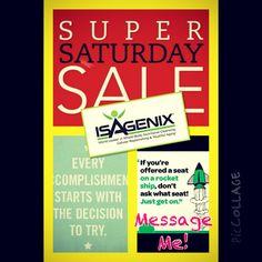 #isagenix! Message me for Details (760)224-5230