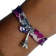 40% OFF! Fashion Kids Wear Liberty Bracelet With Pink Swarovski Heart - Designer: Clara de Paris - Special Edition