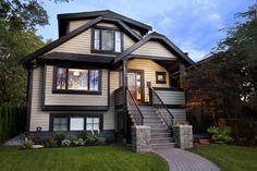 exterior house trim for light gray siding   Exterior dark trim Design Ideas, Pictures, Remodel and Decor