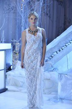Hanna's Christmas dress
