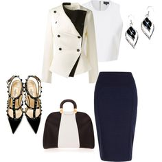 """business attire"" by bsimon-1 on Polyvore"