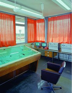Stasi -- Secret Rooms is a 10-year project by Daniel and Geo Fuchs, who took beautiful, striking photos of the stark interiors of the spaces used by the Stasi, the terrifying secret police from the former East Germany.