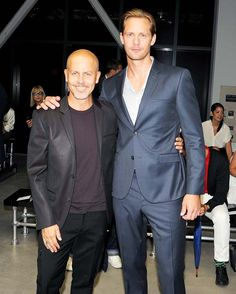 Alexander Skarsgård at the Calvin Klein Collection SS14 Womenswear Show, New York Fashion Week