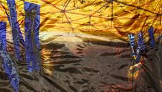 A Temple To Gold Price: SOLD Size: x Exhibition: Not Available As one travels from the edge to the centre of the structure, proportionally, the. Contemporary Embroidery, Gold Price, Antelope Canyon, Pocket, Sunset, Artist, Painting, Artists, Painting Art