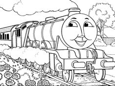 248 Best Thomas The Train Images On Pinterest Coloring Pages