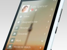 Wunderlist 3 for Windows Phone 8 (Coming Soon) by Timothy ッ for Wunderlist