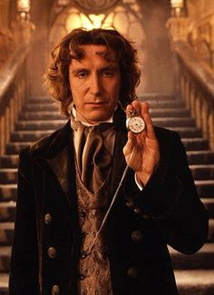 After finishing the TV movie with the Eighth Doctor, I have seen at least one episode of every single doctor. (Yipee!)