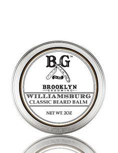 Love the smell of... Williamsburg Classic Beard Balm by Brooklyn Grooming, in the morning