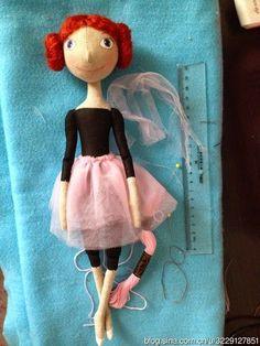 Mimin Dolls: bailarina TUTORIAL