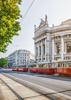 A Local's Gluten free Guide To Vienna, Austria Beautiful Places In The World, Places Around The World, Around The Worlds, Empire State, Global Holidays, Rivers And Roads, Danube River, World Cities, Mykonos