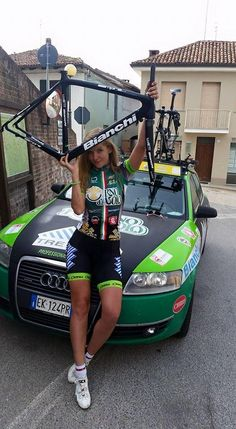"""Bianchi on Twitter: """"Congrats to Elena Novikova of Chirio Forno d'Asolo winning 24hvelo' of Le Mans with her #Bianchi #SemprePro!"""""""