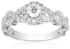 Promise Rings Simple | IGI Certified 14k Diamond Bridal Engagement Ring 1cttw HI Color SI2I1 Clarity Size 8 * Click image to review more details. Note:It is Affiliate Link to Amazon.