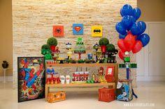 Objetos de decoraçao disponiveis para locaçao   #decor #decoracao #party #festa #locacao #infantil #kids #homemaranha #spider #man #superherois #marvel #dc #batman #superhomem #superman #hulk #diy #ideias #inspiraçao